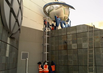 Manufacturing and Erection of Cat-ladders at Vodaworld